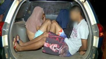 Marginais são presos com munição e armas e negam envolvimento com crime