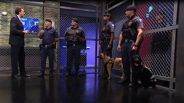 Guardas especializados combatem tráfico de drogas com a ajuda de cães
