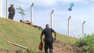 Traficante corre ao avistar viatura da Guarda Municipal em Campinas