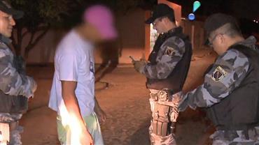 Foragido vacila e volta pra cadeia em Teresina, no Piauí