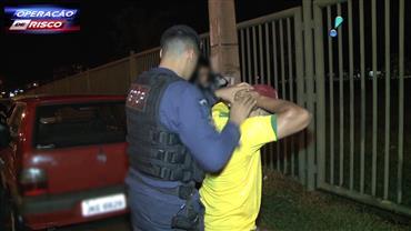 Receptador é preso no momento em que negociava carga roubada