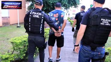 Polícia Civil prende homem identificado como autor de roubo de carga