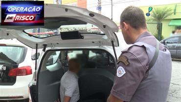 Receptador é preso ao ser flagrado em carro roubado