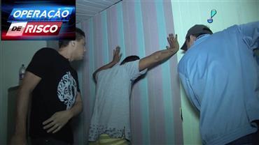 Operação policial captura homem suspeito de homicídio