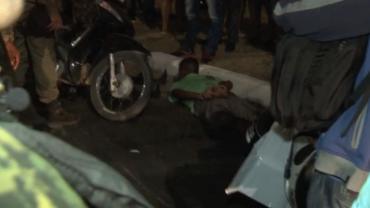 """Moradores lincham ladrões que faziam """"arrastão"""" em Teresina - Piauí"""
