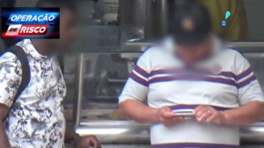 Receptador de celulares roubados cai em emboscada da polícia