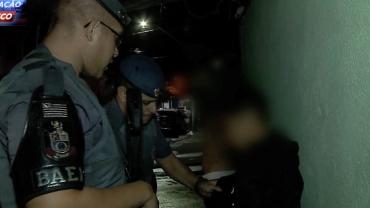 Garoto é flagrado transportando drogas em carro de aplicativo