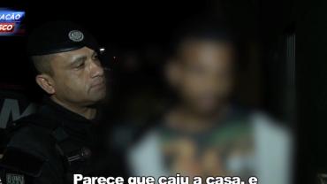 Traficante diz que está passando mal após receber voz de prisão