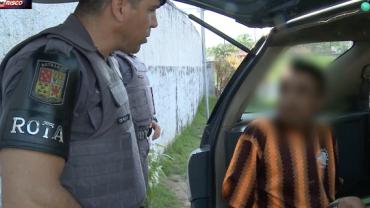 Após patrulhamento, jovem foragido é detido no litoral de São Paulo