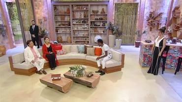 Faa Morena recebe Agnaldo Rayol, Vânia Bastos e Dodô, do Pixote