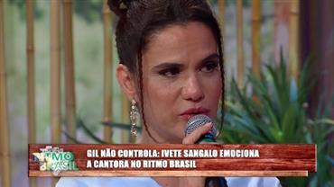 """Gil sobre Ivete Sangalo: """"Já tentei ser um porcento dela mas não consigo"""""""