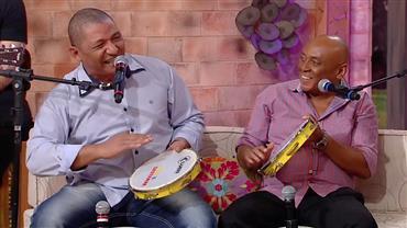 Vídeo raro mostra Caju e Castanha fazendo rima na infância