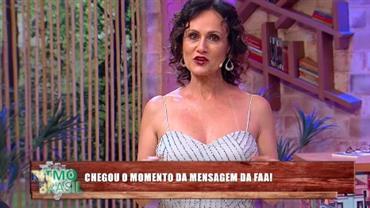 Faa Morena deixa mensagem de inspiração para a vida