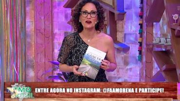 Literando: Faa Morena recomenda livro que relata câncer