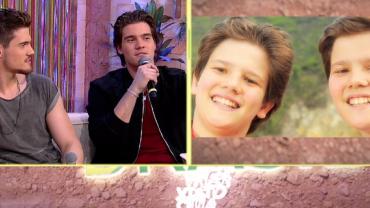 Breno e Caio César relembram início da carreira aos 13 anos de idade