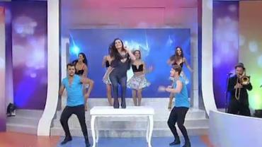 """Daniela Albuquerque dança o hit """"Use Somebody"""""""