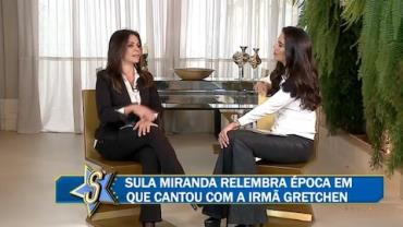 "Sula Miranda abre a intimidade no ""Papo com Dani"""
