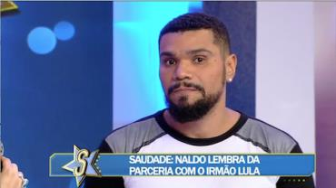 """Naldo arrasa no basquete e lembra do irmão morto: """"A vida teve que seguir"""""""