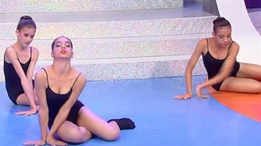 "Ballet Paraisópolis dá show no palco do programa ""Sensacional"""