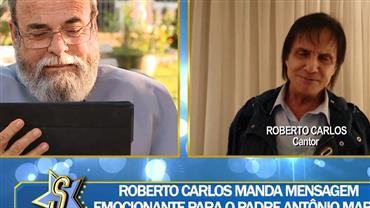 Padre Antônio Maria relembra amizade de longa data com Roberto Carlos