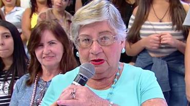 """Dani Albuquerque elogia look de fã na plateia do """"Sensacional"""""""