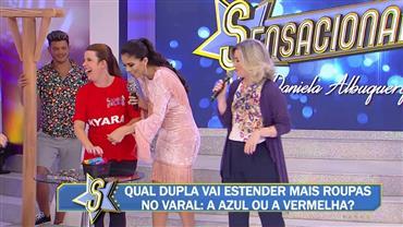 Estreia do game show Donas do Lar