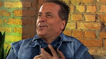 """Dani Albuquerque conversa com o humorista Geraldo Magela no """"Sensacional"""""""