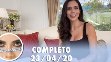 Sensacional com Joelma e Beto Barbosa  (23/04/2020) | Completo