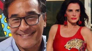 """Luciano Szafir sobre Luma de Oliveira: """"Achava uma das mais bonitas"""""""