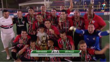 São Paulo bate a Portuguesa e leva o título da Copa São Paulo de Fut7
