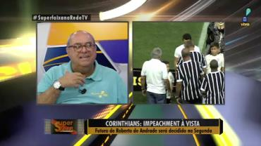 Presidente do Corinthians pode sofrer impeachment