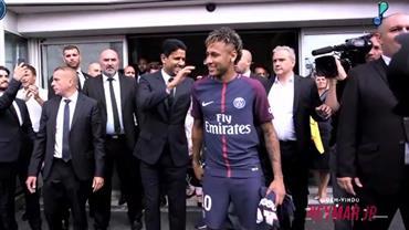 Correspondente da RedeTV! mostra que Neymar já conquistou Paris