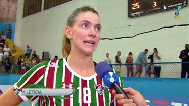 Assista aos dois últimos sets de Fluminense 3 x 0 BRB/Brasília