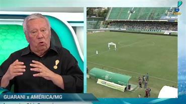 """""""Jogo entre Guarani e América-MG será nervoso"""", prevê Juarez Soares"""