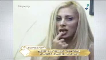 """Ângela Bismarchi sobre vídeo íntimo: """"Eu não vou mentir, realmente eu fiz"""""""