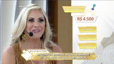 Ângela Bismarchi confessa que tem vídeo íntimo guardado em cofre