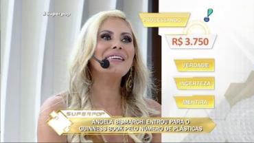 Ângela Bismarchi diz que faria nova cirurgia íntima para presentear marido