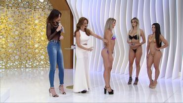 Meia-calça líquida promete fazer as mulheres brilharem no Carnaval