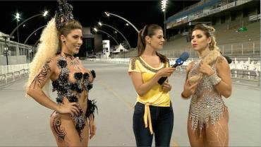 Irmãs Minerato mostram rotina frenética para desfile na Gaviões da Fiel