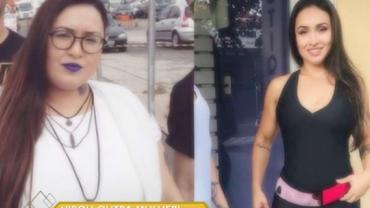 "Modelo perdeu 50 quilos sem cirurgia plástica: ""Renasci"""