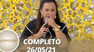 SuperPop: Solange Couto no 'Porta da Fama' (26/05/21)   Completo