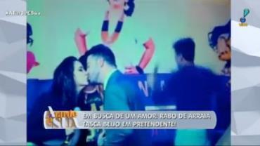 """Thiago sobre Rabo de Arraia: """"Nunca viu o cara e já vai beijar na boca?"""""""
