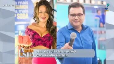 Geraldo Luís convida Mariana Ximenes para jantar