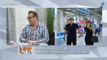 """""""Devo meu emprego ao Edson Celulari e Claudia Raia"""", revela Felipeh Campos"""