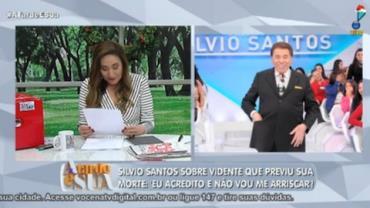 Silvio Santos prefere não arriscar previsão de morte