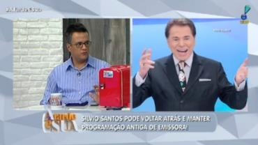 Silvio Santos pode voltar atrás e manter programação