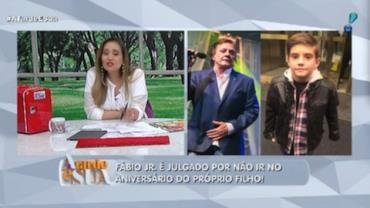 Fábio Jr. não vai à festa de aniversário do filho com Mari Alexandre