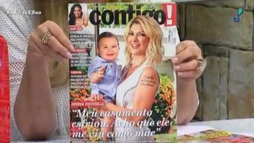 "Antonia Fontenelle sobre ex-marido: ""Acho que ele me viu como mãe"""