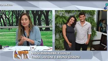 Nasce a filha de Yanna Lavigne e Bruno Gissoni