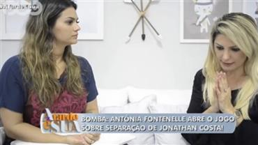 """Eu queria me divertir"", conta Fontenelle sobre casamento com Jonathan"